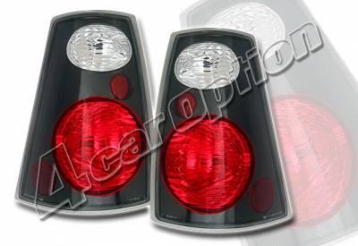 Headlights & Tail Lights - Tail Lights - 4 Car Option - Ford Explorer 4 Car Option Altezza Taillights - Black - LT-FER02TB-KS