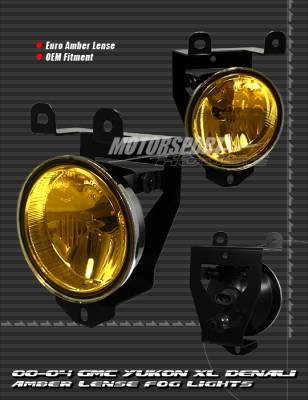 Headlights & Tail Lights - Fog Lights - Custom - Amber Fog Lights