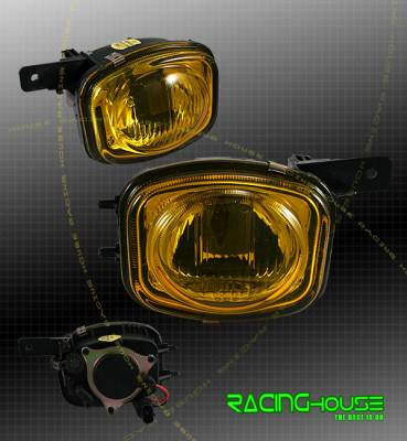 Headlights & Tail Lights - Fog Lights - Custom - JDM Amber Fog Lights