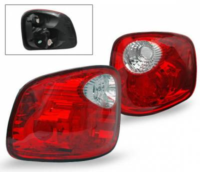 Headlights & Tail Lights - Led Tail Lights - 4CarOption - Ford F150 4CarOption Altezza Taillights - LT-FF01FRC-YD