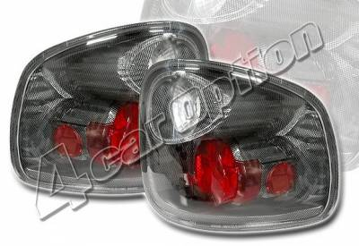 Headlights & Tail Lights - Tail Lights - 4 Car Option - Ford F150 4 Car Option Altezza Taillights - Carbon Fiber Style - LT-FF97FF-YD