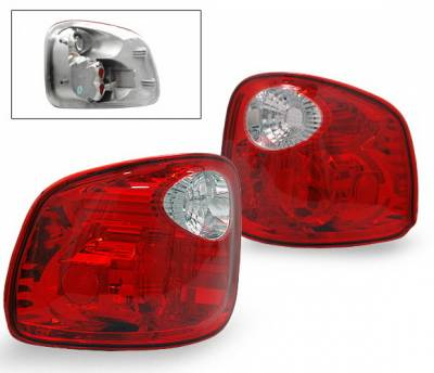 Headlights & Tail Lights - Led Tail Lights - 4CarOption - Ford F150 4CarOption Altezza Taillights - LT-FF97FRC-YD