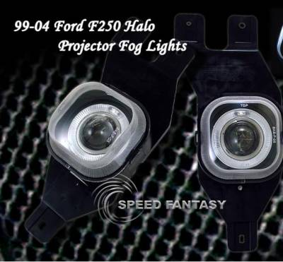Headlights & Tail Lights - Fog Lights - Custom - Halo Pro Fog Lights
