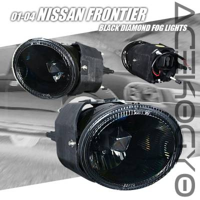 Headlights & Tail Lights - Fog Lights - Custom - Euro Black Fog Lights