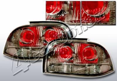 Headlights & Tail Lights - Tail Lights - 4 Car Option - Ford Mustang 4 Car Option Altezza Taillights - Gunmetal - LT-FM94B-KS