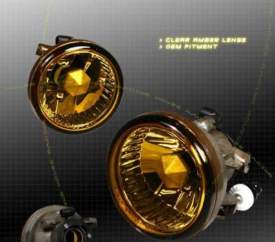 Headlights & Tail Lights - Fog Lights - Custom - Clear Amber Fog Lights