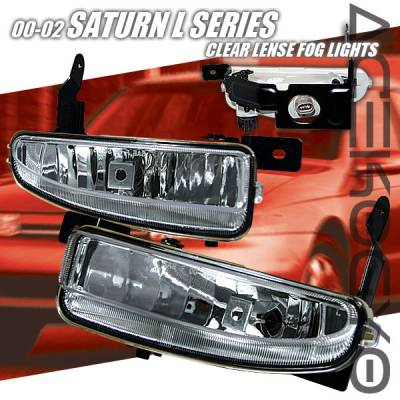 Headlights & Tail Lights - Fog Lights - Custom - Crystal Fog Lights