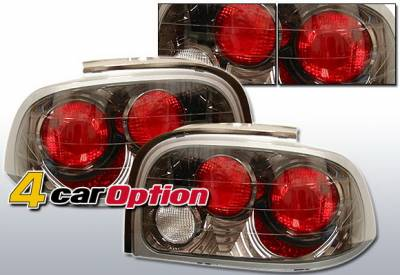 Headlights & Tail Lights - Tail Lights - 4 Car Option - Ford Mustang 4 Car Option Altezza Taillights - Gunmetal - LT-FM96G-YD
