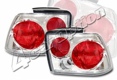 Headlights & Tail Lights - Tail Lights - 4 Car Option - Ford Mustang 4 Car Option Altezza Taillights - Chrome - LT-FM99A-KS