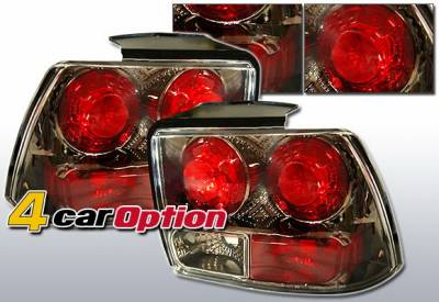Headlights & Tail Lights - Tail Lights - 4 Car Option - Ford Mustang 4 Car Option Altezza Taillights - Gunmetal - LT-FM99G-YD