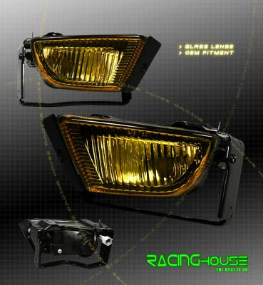 Headlights & Tail Lights - Fog Lights - Custom - Yellow Clear Fog Lights