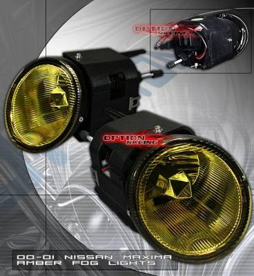 Headlights & Tail Lights - Fog Lights - Custom - Euro Yellow Fog Lights