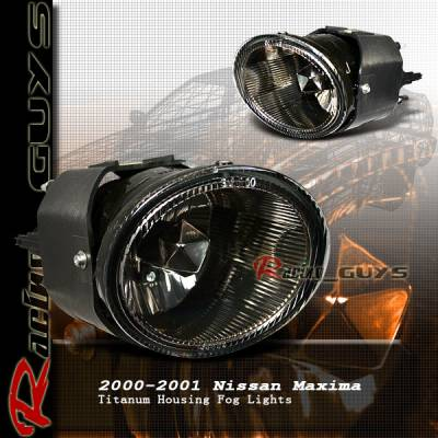 Headlights & Tail Lights - Fog Lights - Custom - JDM Smoked Fog Lights