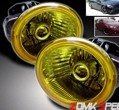 Headlights & Tail Lights - Fog Lights - Custom - Yellow Fog Lights