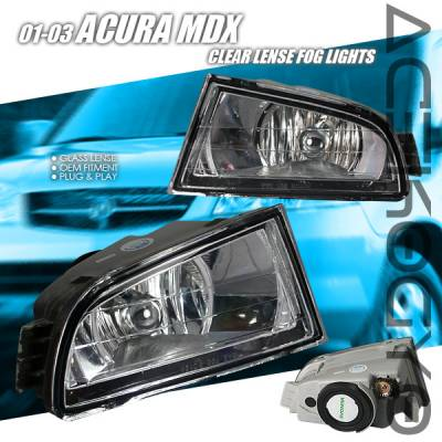 Headlights & Tail Lights - Fog Lights - Custom - Euro Chrome Fog Lights