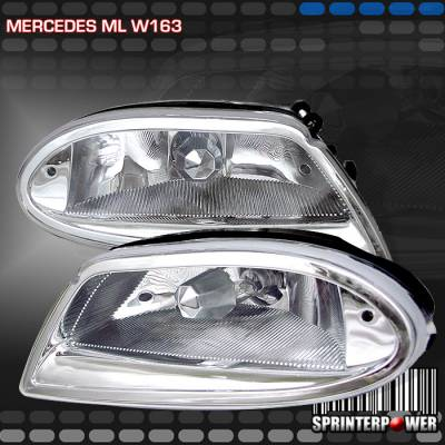 Headlights & Tail Lights - Fog Lights - Custom - Chrome Fog Lights