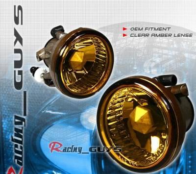 Headlights & Tail Lights - Fog Lights - Custom - Amber Fog Lights