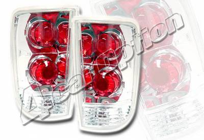 Headlights & Tail Lights - Tail Lights - 4 Car Option - GMC Jimmy 4 Car Option Altezza Taillights - Chrome - LT-GB95A-KS