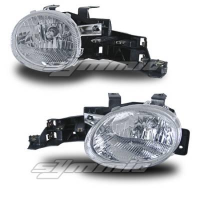 Headlights & Tail Lights - Fog Lights - Custom - Crystal Euro Fog Lights