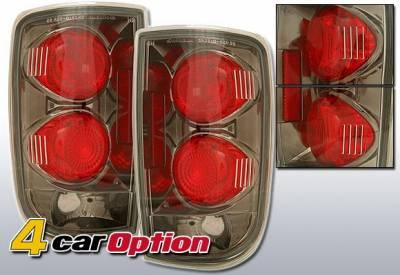 Headlights & Tail Lights - Tail Lights - 4 Car Option - Chevrolet Blazer 4 Car Option Altezza Taillights - Gunmetal - LT-GB95G-YD