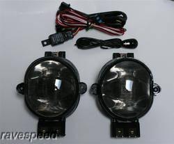 Headlights & Tail Lights - Fog Lights - Custom - Smoke Fog Lights