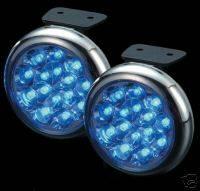 Headlights & Tail Lights - Fog Lights - Custom - Blue LED Fog Lights