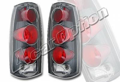 Headlights & Tail Lights - Tail Lights - 4 Car Option - GMC C10 4 Car Option Altezza Taillights - V2 - Carbon Fiber Style - LT-GC88F2-KS