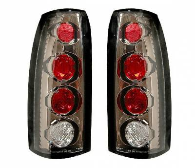 Headlights & Tail Lights - Tail Lights - 4 Car Option - GMC C10 4 Car Option Altezza Taillights - V1 - Gunmetal - LT-GC88G-YD