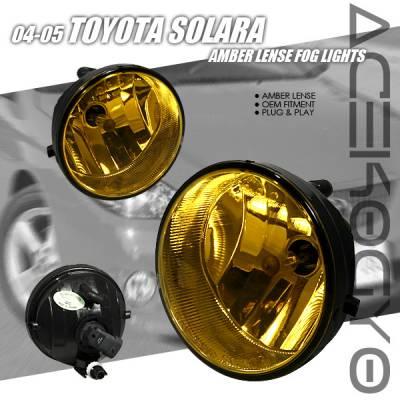 Headlights & Tail Lights - Fog Lights - Custom - Diamond Cut Amber Fog Lights
