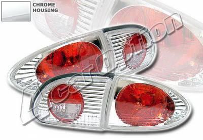 Headlights & Tail Lights - Tail Lights - 4 Car Option - Chevrolet Cavalier 4 Car Option Altezza Taillights - Chrome - LT-GCA95A-KS