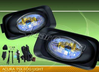 Headlights & Tail Lights - Fog Lights - Custom - Yellow Ion Lens Fog Lights