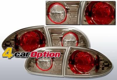Headlights & Tail Lights - Tail Lights - 4 Car Option - Chevrolet Cavalier 4 Car Option Altezza Taillights - Gunmetal - LT-GCA95B-YD