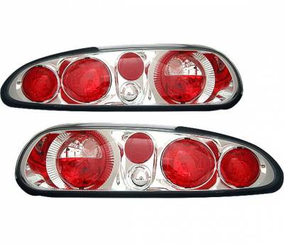 Headlights & Tail Lights - Tail Lights - 4 Car Option - Chevrolet Camaro 4 Car Option Altezza Taillights - Chrome - LT-GCC93A-YD