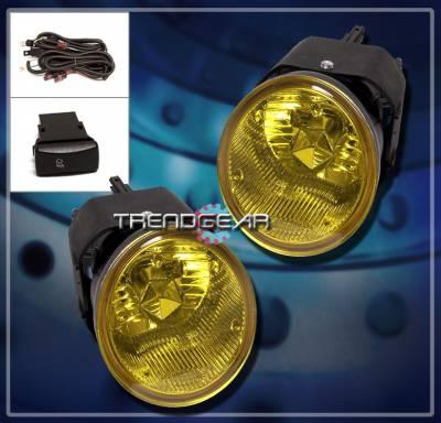 Headlights & Tail Lights - Fog Lights - Custom - Yellow Fog Lights