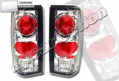 Headlights & Tail Lights - Tail Lights - 4 Car Option - Chevrolet S10 4 Car Option Altezza Taillights - Chrome - LT-GS82A1-KS