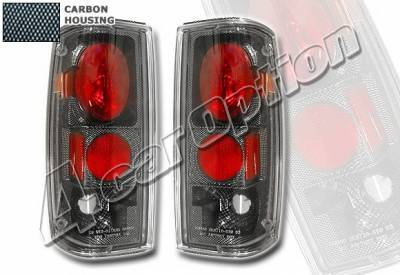 Headlights & Tail Lights - Tail Lights - 4 Car Option - Chevrolet S10 4 Car Option Altezza Taillights - Carbon Fiber Style - LT-GS82F-YD