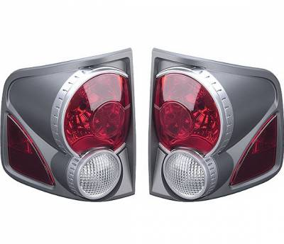 Headlights & Tail Lights - Tail Lights - 4 Car Option - Chevrolet S10 4 Car Option 3D Style Taillights - Titanium - LT-GS94DT-9