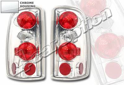 Headlights & Tail Lights - Tail Lights - 4 Car Option - Chevrolet Tahoe 4 Car Option Altezza Taillights - Chrome - LT-GST02A-KS