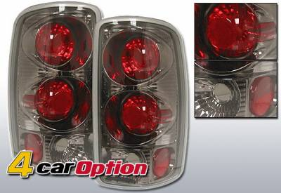 Headlights & Tail Lights - Tail Lights - 4 Car Option - Chevrolet Suburban 4 Car Option Altezza Taillights - Gunmetal - LT-GST02G-YD