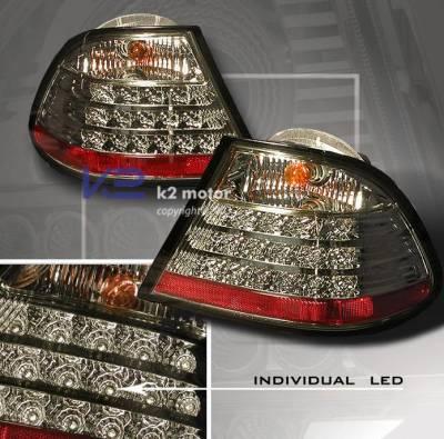 Headlights & Tail Lights - Led Tail Lights - Custom - Smoked LED Tail Lights