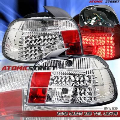 Headlights & Tail Lights - Led Tail Lights - Custom - Chrome LED Tail Lights