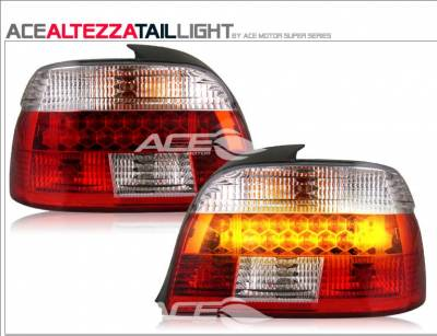Headlights & Tail Lights - LED Tail Lights - Custom - Altezza Smoked  LED Tail Lights