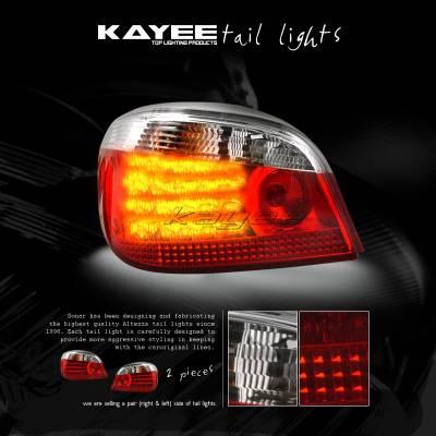 Headlights & Tail Lights - Led Tail Lights - Custom - Clear  LED Tail Lights