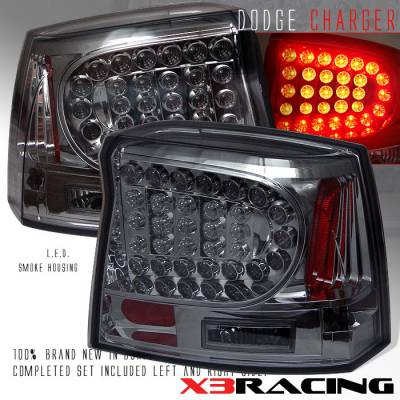 Headlights & Tail Lights - Led Tail Lights - Custom - Smoked LED tail lights