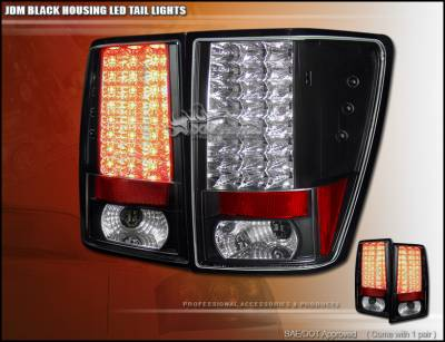 Headlights & Tail Lights - Led Tail Lights - Custom - LED ALTEZZA TAIL LIGHTS