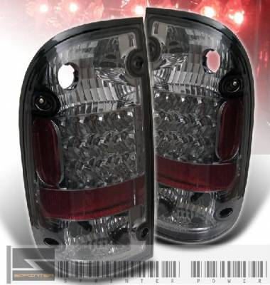 Headlights & Tail Lights - Led Tail Lights - Custom - Smoked LED Altezza Tail Lights