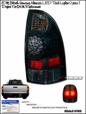 Headlights & Tail Lights - Led Tail Lights - Custom - Black LED Altezza Tail Lights