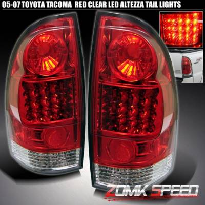 Headlights & Tail Lights - Led Tail Lights - Custom - All Red LED Altezza Tail lights