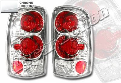 Headlights & Tail Lights - Tail Lights - 4 Car Option - GMC Denali 4 Car Option Altezza Taillights - Chrome - LT-GYD01A-YD