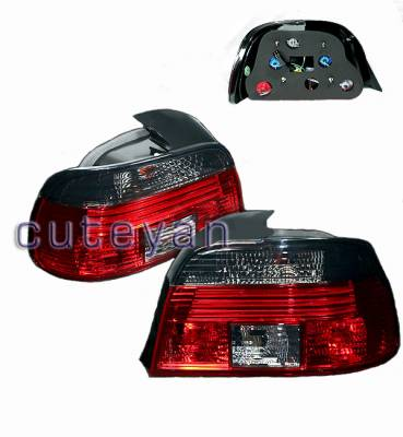 Headlights & Tail Lights - Tail Lights - Custom - Altezza RED Smoked Tail Lights